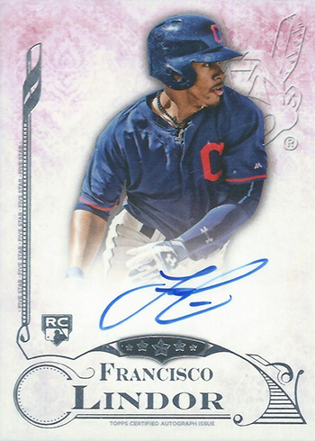 2015 Topps Five Star Francisco Lindor RC