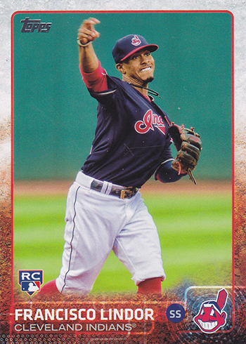 2015 Topps Update Francisco Lindor RC