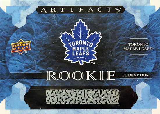 2016-17-NHL-Artifacts-Toronto-Maple-Leafs-Auston-Matthes-Rookie-Card
