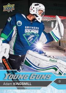 2016-17-NHL-Upper-Deck-Series-One-Young-Guns-Adam-Kingsmill-Front