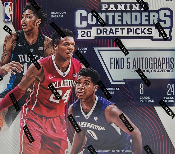 2016-17 Panini Contenders Draft Picks Basketball Box