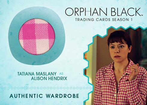 2016 Cryptozoic Orphan Black Season 1 Wardrobe