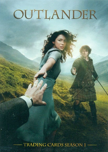 2016 Cryptozoic Outlander Season 1 Promo