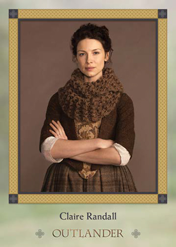 2016 Outlander Season 1-6 Character Bios Claire