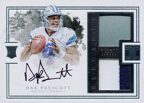 2016 Panini Impeccable Dak Prescott RC
