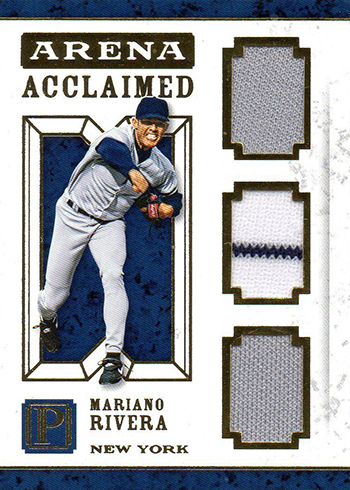 2016 Panini Pantheon Baseball Arena Acclaimed Mariano Rivera