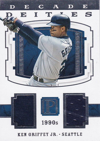 2016 Panini Pantheon Baseball Decade Deities Ken Griffey Jr