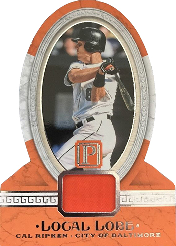 2016 Panini Pantheon Baseball Local Lore Cal Ripken Jr