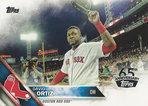 2016 Topps 65th Anniversary David Ortiz