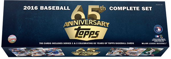 2016 Topps 65th Anniversary Factory Set