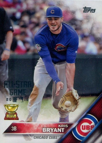 2016 Topps All-Star Bonus Card Kris Bryant