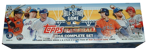 2016 Topps All-Star Game Factory Set