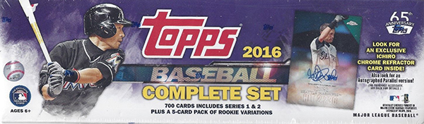 2016 Topps Baseball Factory Set Retail Ichiro Purple