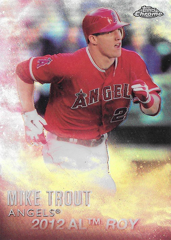 2016 Topps Baseball Mike Trout Factory Set Chrome MT-1