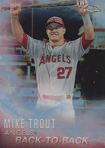 2016 Topps Baseball Mike Trout Factory Set Chrome MT-4