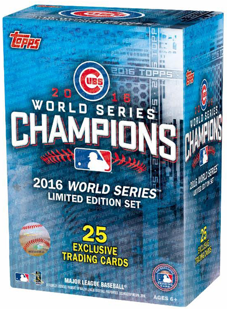 2016 Topps Chicago Cubs World Series Box Set