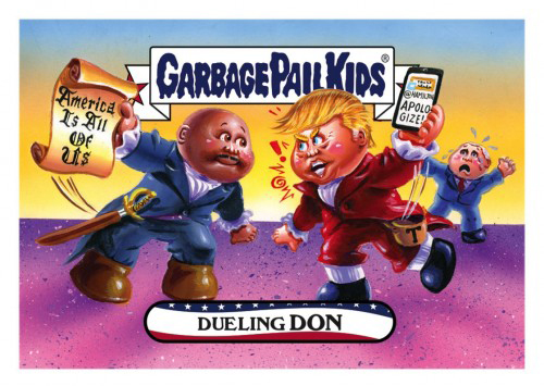2016 Topps Garbage Pail Kids DisgRace for the White House 83