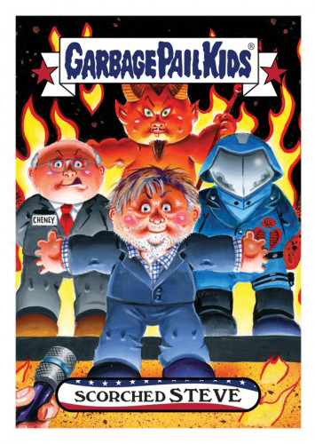2016 Topps Garbage Pail Kids DisgRace for the White House 85
