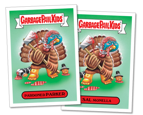 2016 Topps Garbage Pail Kids Thanksgiving 2