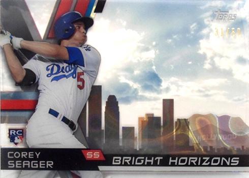 2016 Topps High Tek Bright Horizons Corey Seager