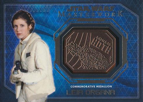 2016 Topps Star Wars Masterwork Medallion Bronze