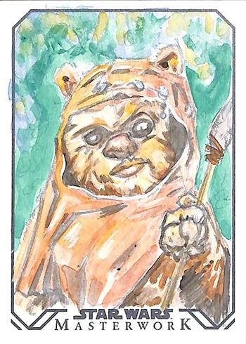 2016 Topps Star Wars Masterwork Sketch Card