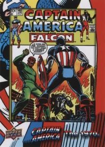 2016 Upper Deck Captain America 75th Anniversary Base