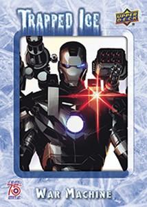 2016 Upper Deck Captain America 75th Anniversary Trapped Ice
