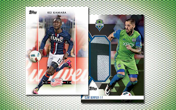 2017 Topps MLS Soccer Header