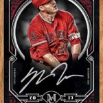 2017 Topps Museum Collection Baseball Museum Framed Autograph Wood