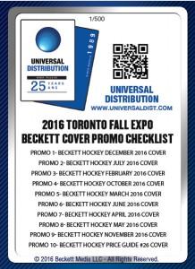 Beckett 2016 Fall Expo Checklist
