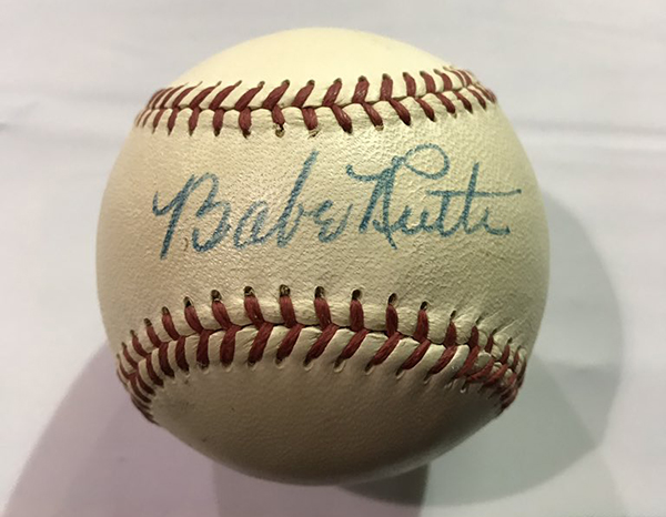 Beckett Authentication Services Babe Ruth