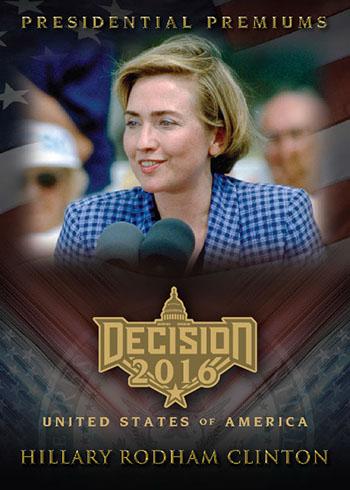Decision 2016 Series 2 Presidential Premiums Clinton