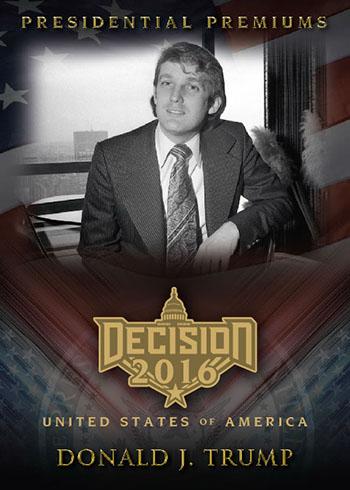 Decision 2016 Series 2 Presidential Premiums Trump