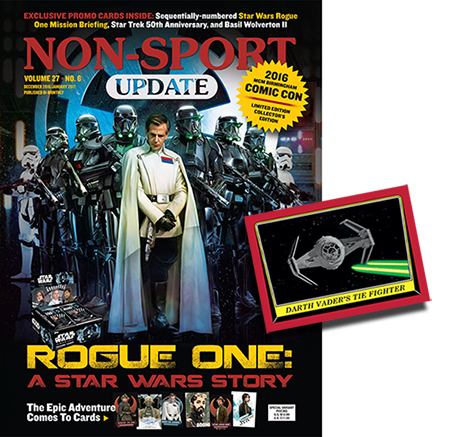 NSU Dec-Jan Star Wars Rogue One Variant Issue Header