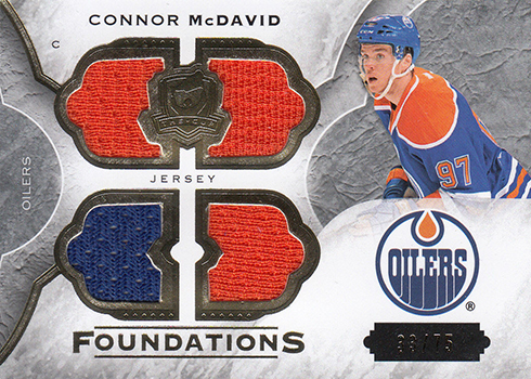2015-16 Cup Connor McDavid Cup Foundations Quad 75