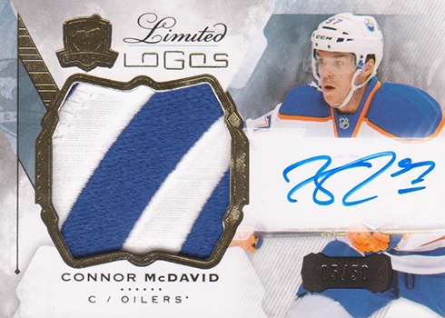 2015-16 Cup Connor McDavid Limited Logos 50