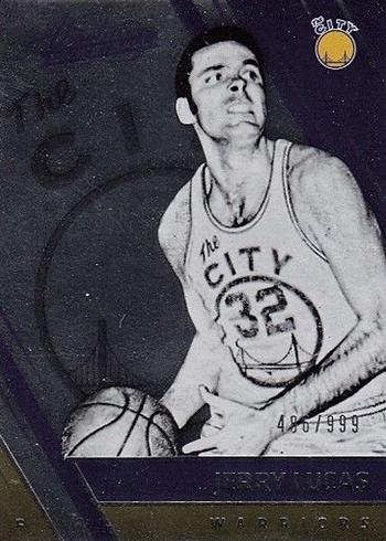 2016-17 Panini Absolute Basketball Base Retired Lucas