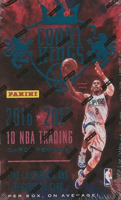 2016-17 Panini Court Kings Basketball Box