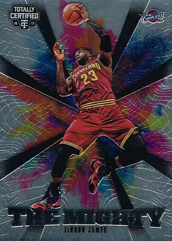 2016-17 Panini Totally Certified Basketball The Mighty