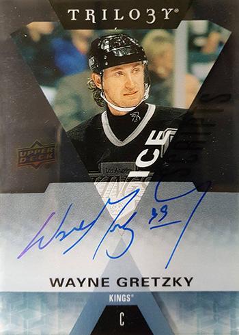 2016-17 Upper Deck Trilogy Hockey Ice Scripts Wayne Gretzky