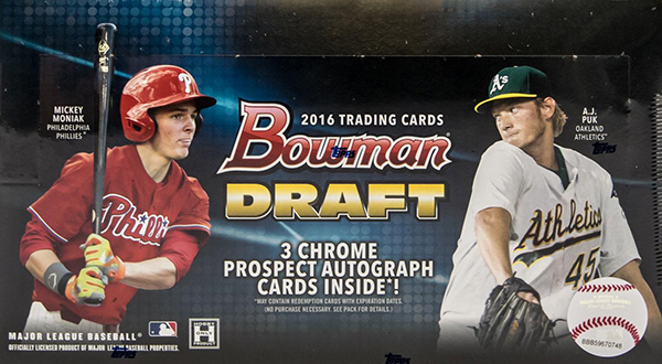 2016 Bowman Draft Hobby Box