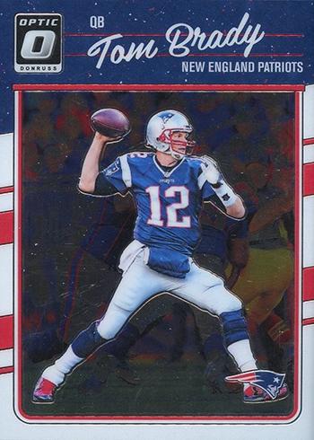2016 Donruss Optic Football Tom Brady
