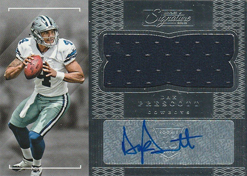 2016 Donruss Signature Series Dak Prescott RC
