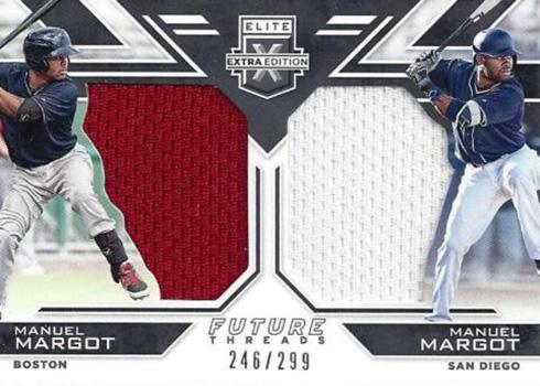 2016 Elite Extra Edition Baseball Future Threads Duals