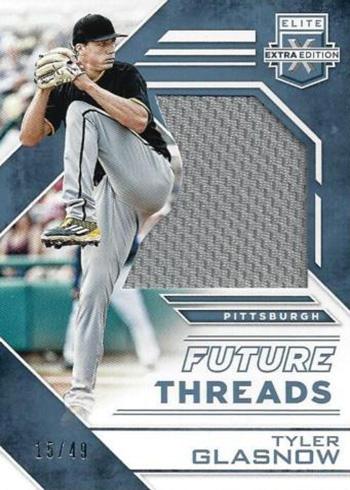 2016 Elite Extra Edition Baseball Future Threads Materials Holo Silver
