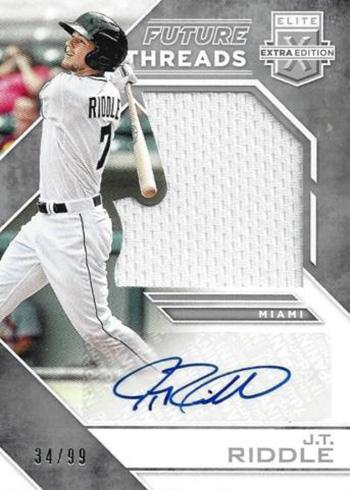 2016 Elite Extra Edition Baseball Future Threads Silhouette Autographs Silver