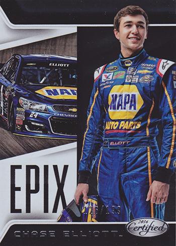 2016 Panini Certified Racing Epix Chase Elliott
