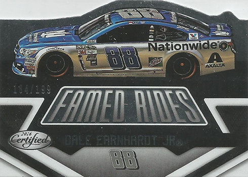 2016 Panini Certified Racing Famed Rides Dale Earnhardt Jr