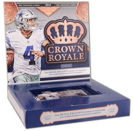2016 Panini Crown Royale Football Box